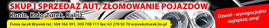Firma Jacek Wzorek - skup i sprzedaż aut, złomowanie pojazdów