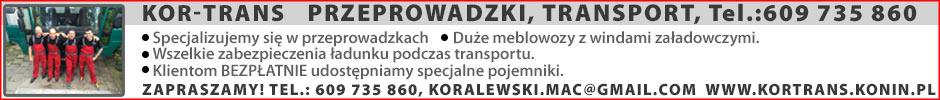 KORTRANS - transport, przeprowadzki