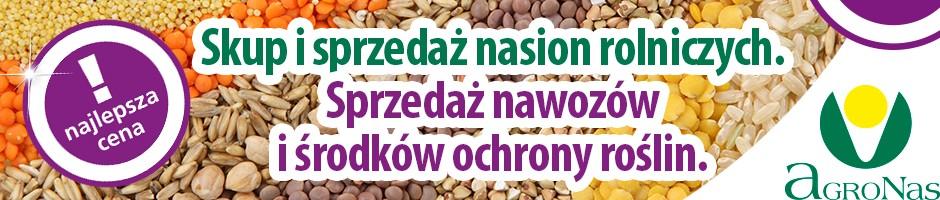 aGRONAS - najwyższej jakości nasiona zbóż i rzepaku