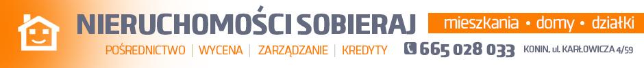 Nieruchomości Sobieraj - mieszkania, domy, działki