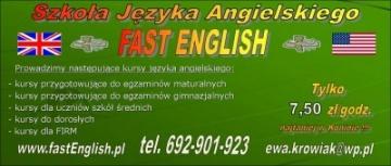 Szkoła Języka Angielskiego FAST ENGLISH