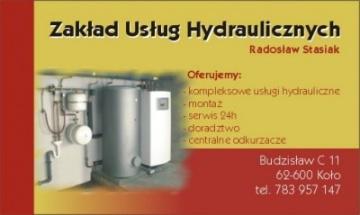 Zakład Usług Hydraulicznych Radosław Stasiak