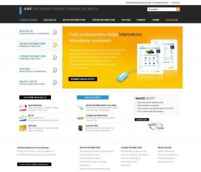 Oprogramowanie sklepu internetowego / a44.pl