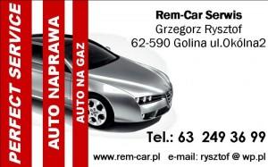 REM-CAR SERWIS Grzegorz Rysztof