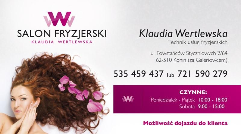 Firma Salon Fryzjerski K Wertlewska