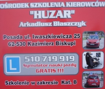 OSK Huzar - Arkadiusz Błaszczyk