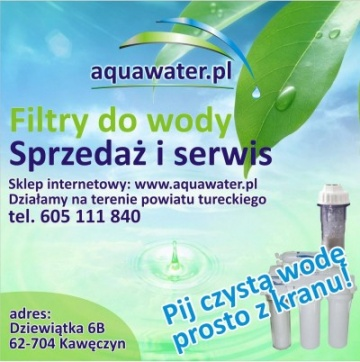 aquawater.pl - filtry do wody odwrócona osmoza czysta woda