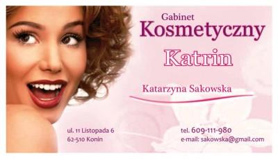 """GABINET KOSMETYCZNY """"KATRIN"""""""