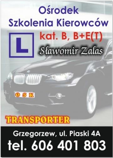 Ośrodek Szkolenia Kierowców TRANSPORTER Sławomir Zalas