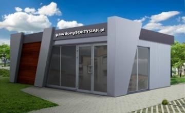 Pawilony Sołtysiak, wytwórca kiosków z płyty warstwowej.