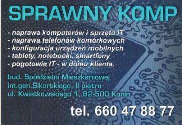 Sprawny Komp - Serwis komputerowy Konin