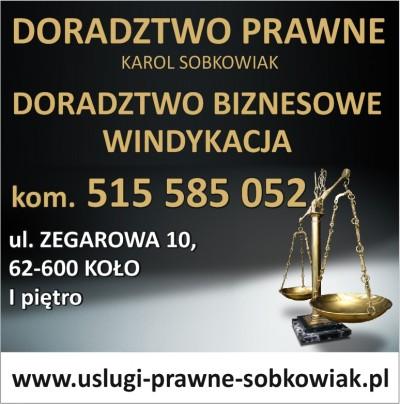Doradztwo Prawne Karol Sobkowiak
