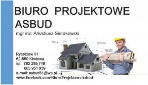 """Biuro Projektów Budowlanych """"ASBUD"""""""