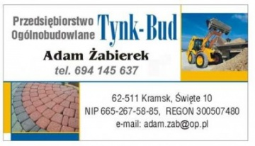 Przedsiębiorstwo Ogólnobudowlane TYNK-BUD Adam Żabierek