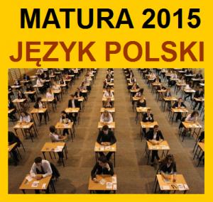 MATURA 2015 - kurs przygotowujący do matury z języka polskiego