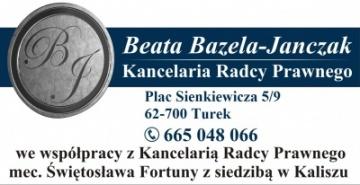 Kancelaria Radcy Prawnego Beata Bazela-Janczak