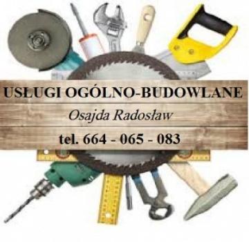 OS-BUD Usługi Ogólnobudowlane Osajda Radosław