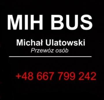 Bus 9 osób - MIH BUS - Niemcy, Holandia, Belgia