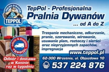 Teppol Profesionalna Pralnia dywanów na Wskroś