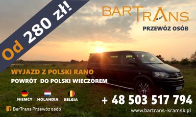 BarTrans Przewóz osób