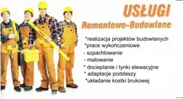 usługi remontowo-budowlane Błażej Szabelski