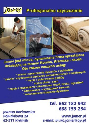 F.H.U. JOMER - Profesjonalne czyszczenie