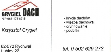 GRYGIEL-DACH