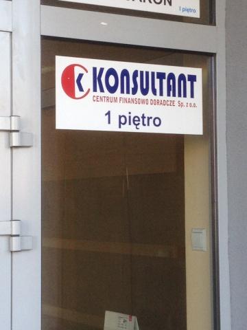 """KONSULTANT"" Centrum Finansowo Doradcze Sp. z o.o."