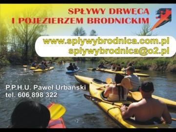 Spływy Drwęcą PPHU Paweł Urbański