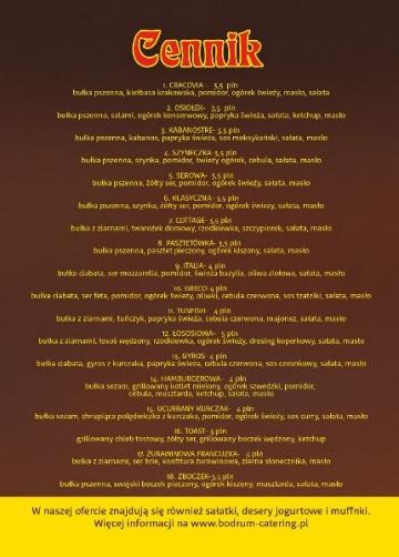 Bodrum Catering Kompleksowa Organizacja Imprez
