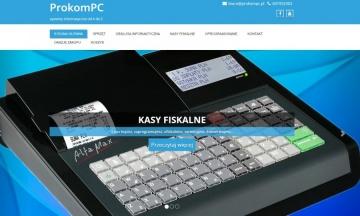 ProKomPC - Kasy fiskalne, komputery, tablety