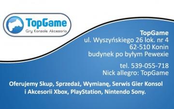 TopGame - gry, konsole i akcesoria SKUP, SPRZEDAŻ, WYMIANA