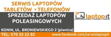 LAPTOP IT - POGOTOWIE KOMPUTEROWE 24H. NAPRAWA TELEFONÓW. DOJAZD!