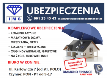 UBEZPIECZENIA IMS Małgorzata Zakrzewska