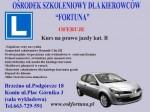 """Ośrodek Szkolenia Kierowców """"FORTUNA"""""""