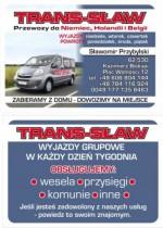 '' TRANS-SŁAW''  Przewóz osób.