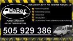 """""""MaBer"""" Pomoc Drogowa Usługi Transportowe"""