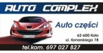 AUTO COMPLEX  -  Części blacharskie i mechaniczne