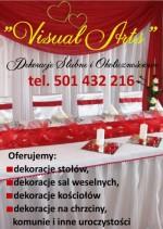 Visual Arts Dekoracje Ślubne i Okolicznościowe