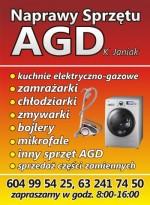 Naprawy sprzętu AGD K.Janiak