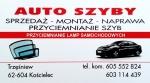 Auto Szyby Sprzedaż - Montaż - Naprawa