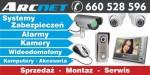 ARCNET  Alarmy - Kamery - Wideodomofony - Automatyka do bram