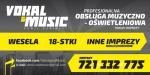 VOKAL & MUSIC - Obsługa Muzyczno - Oświetleniowa Imprez