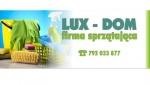 LUX-DOM - profesjonalne usługi sprzątające - tel. 792 033 877