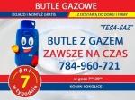 Tesa-Gaz dostawa, dystrybucja gazu w butlach 11 kg Konin