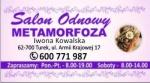 Salon fryzjerski Metamorfoza Turek