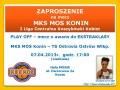 MKS MOS Konin zagra z TS Ostrovia Ostrów Wlkp