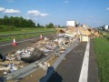 Zasypana autostrada
