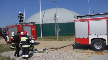 Groźnie w biogazowni