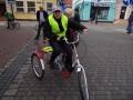 Trójkołowe rowery dla niepełnosprawnych za recykling
